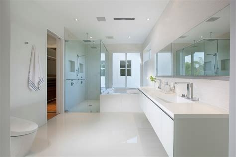 small bathroom with white suite and mirrors housetohome good looking marcy smith machine inspiration for laundry