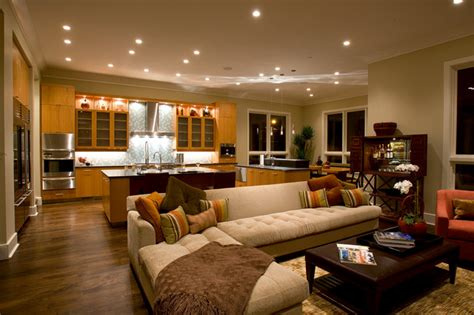 luxury home  transitional family room chicago