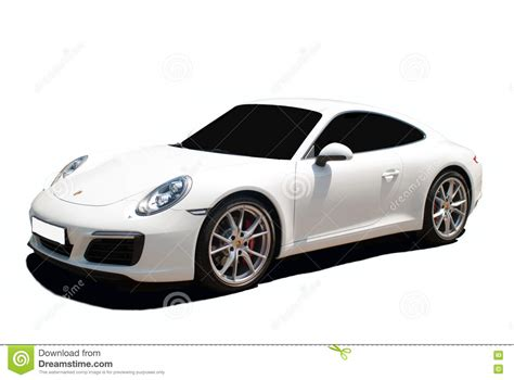 porsche white car white porsche 911 a transparent background
