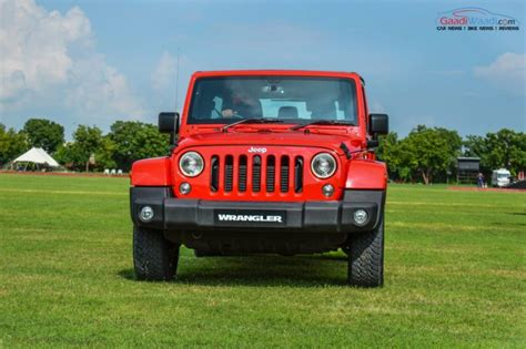jeep wrangler india jeep wrangler unlimited petrol launched in india at rs 56