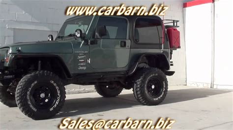 99 jeep wrangler top sold 1999 jeep wrangler sport 4x4 lifted winch