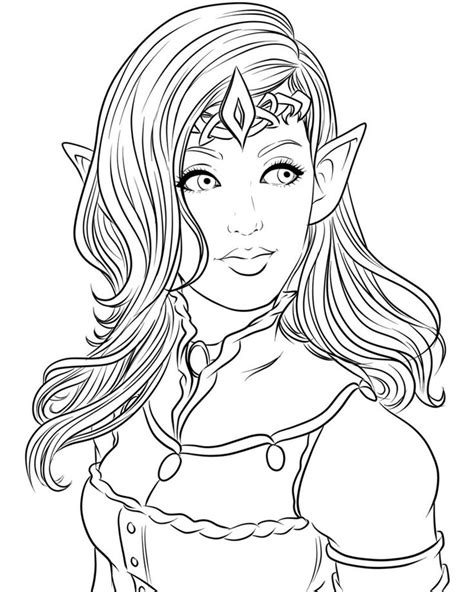 elf coloring pages for adults 79 best elves coloring pages images on pinterest elves