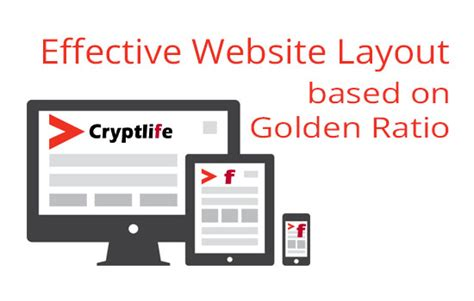 web layout golden ratio effective website layout golden ratio cryptlife crypt life