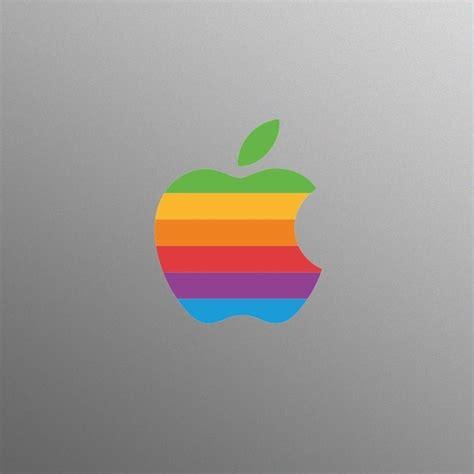 Apple Zeichen Aufkleber by Retro Apple Logo Sticker 187 Gadget Flow