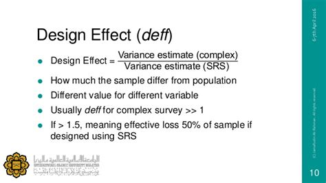 Design Effect Interpretation | complex sling design analysis