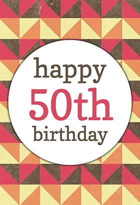 happy 50th birthday card template 8 best images of free printables for 50th birthday 50th