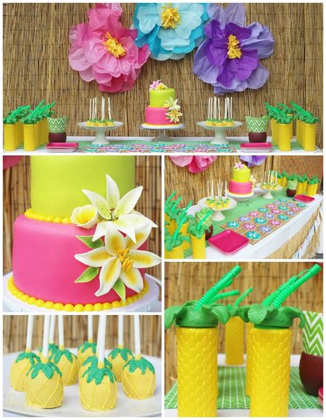 party themes hawaiian 411 best luau 2017 mermaid surfer party images on