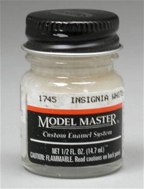 model master insignia white 17875 1 2 oz hobby and model enamel paint 1745 by testors 1745