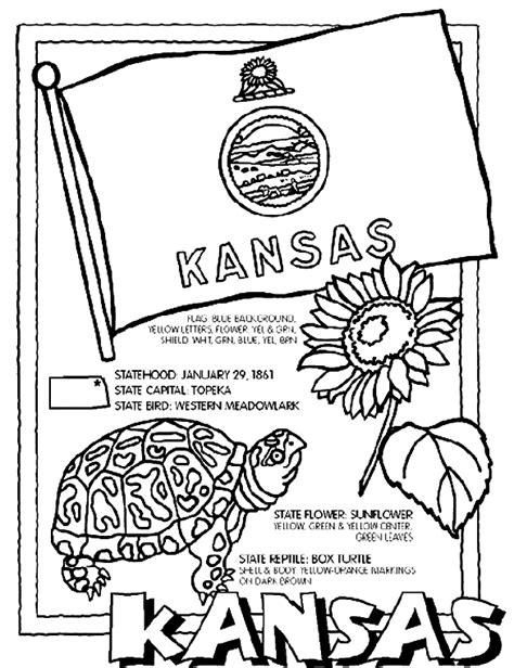 Kansas Coloring Page Crayola Com Ku Coloring Pages