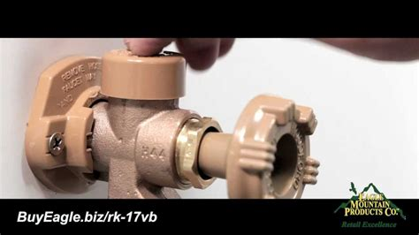 woodford outdoor faucet vacuum breaker repair