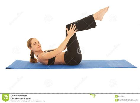Pilates Mat Series by Pilates Exercise Series Stock Photos Image 5412893