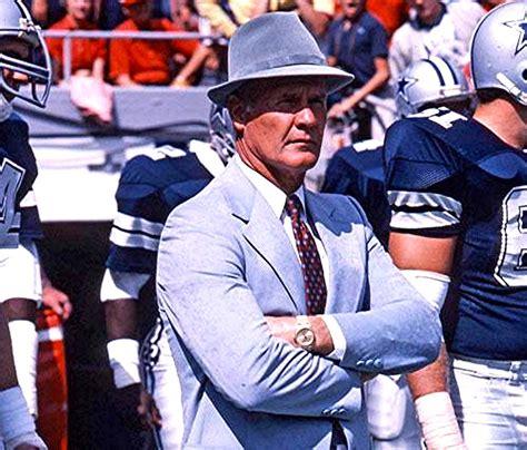 dallas cowboys coaches coach tom landry classic cowboys dallas cowboys photo