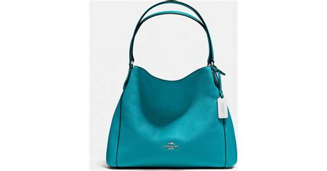 Galerry coach turquoise edie shoulder bag 31 everything turquoise