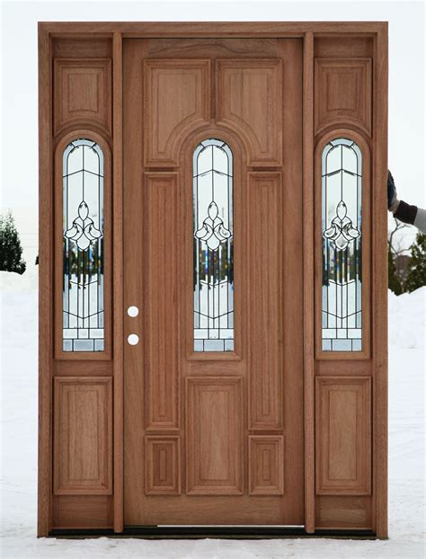 exterior door sidelights exterior doors prehung with sidelights