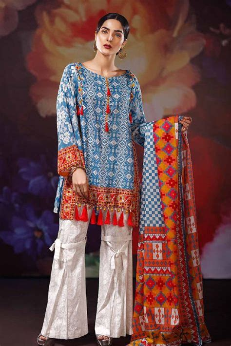 Kurta Colors by Warda Latest Summer Dresses Printed Amp Embroidered