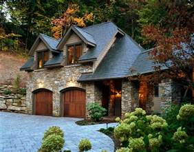 Cottage Style Kitchen Lighting - european stone and slate mountain home traditional exterior atlanta by mark sinsky
