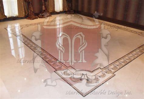 Custom Floor Medallions by Marble Medallions Marble Floor Borders Marble Flooring