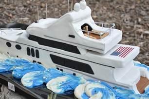 yacht birthday cake a birthday cake