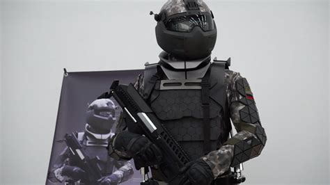 Tactical Assault Light Operator Suit Russian Exoskeleton Suit Muted