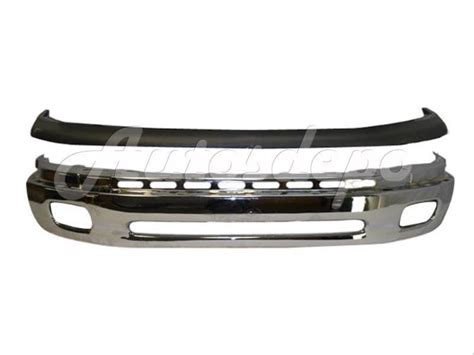 2000 Toyota Tundra Front Bumper 2000 2006 Toyota Tundra Front Steel Bumper Bar Chrome