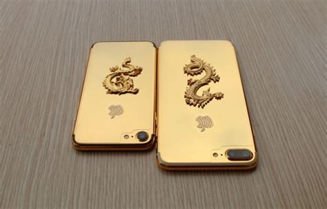Chasing Iphone 6 Model Iphone 7 Gold here s a 24k gold plated iphone 7 with a and diamonds on the back gsmarena