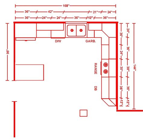 kitchen layout with dimensions kitchen layouts dimension home christmas decoration