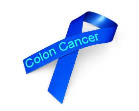 colon cancer awareness color 0914 blue ribbon for colon cancer awareness stock photo