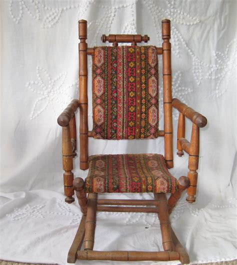 childrens upholstered rocking chair antique rocking chair childs rocking chair upholstered