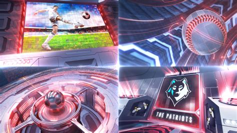 videohive project ultimate sports broadcast package