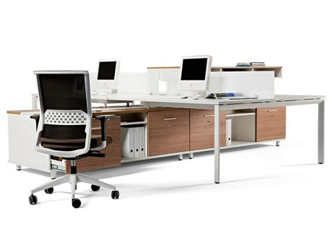 Sectional Office Desk with Sectional Office Desk With Shelves Spine By Actiu