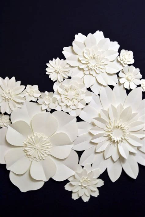 Large Paper For Crafts - large paper flowers easy cheap diy crafts