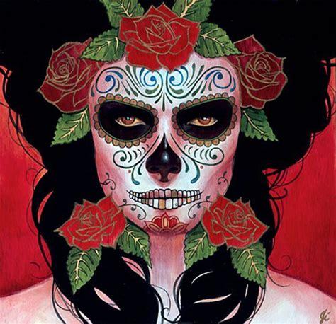 imagenes halloween tenebrosas disfraz de muerte mexicana o catrina para este halloween