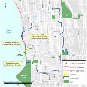 West Seattle Parks Map by Lowman Beach Park West Seattle Gatewood Neighborhood