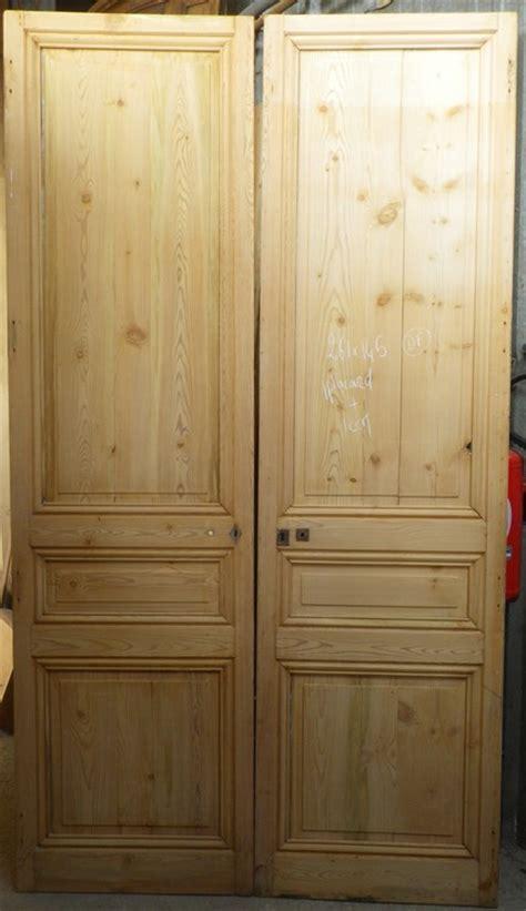 c2v15 porte d interieur 2 vantaux en pin