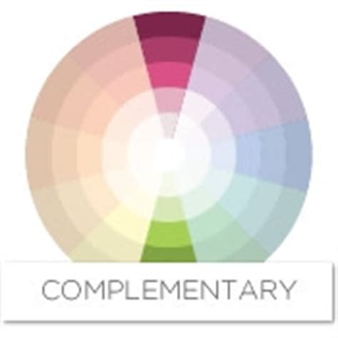 complimentary colors to pink color story decorating with pink complementary
