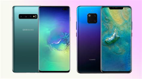 huawei vs samsung battery samsung galaxy s10 vs huawei mate 20 pro which is better
