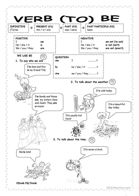 printable worksheets verb to be verb to be worksheet free esl printable worksheets made