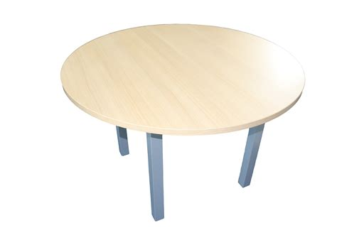 table ronde bureau table de conf 233 rence ronde 4 personnes adopte un bureau