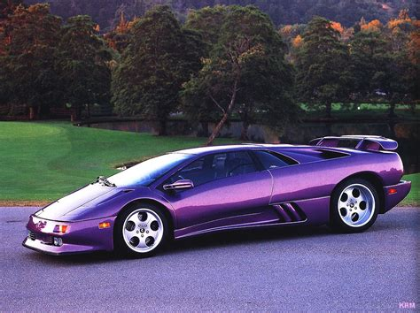 Picture Of A Lamborghini Car Lamborghini Diablo Cool Car Wallpapers