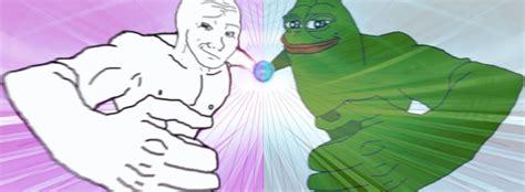 pepe  wojak double rasengan pepe punch   meme