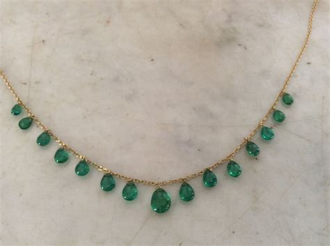 Drop Necklace emerald drop necklace from my collection indian jewels