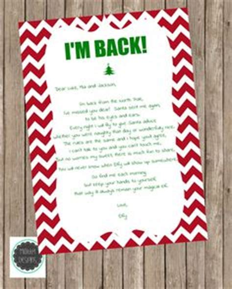quot i m back quot diy printable letter printable letters