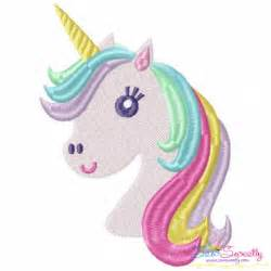 Sayings For Bride And Groom Unicorn Head Machine Embroidery Design For Kids