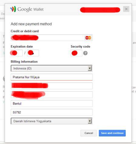 cara membuat kartu kredit google play cara daftar google play developer tanpa kartu kredit card