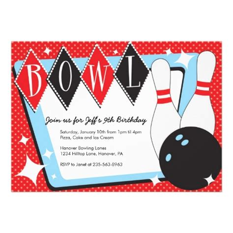 printable bowling images 7 best images of bowling party invitations printable