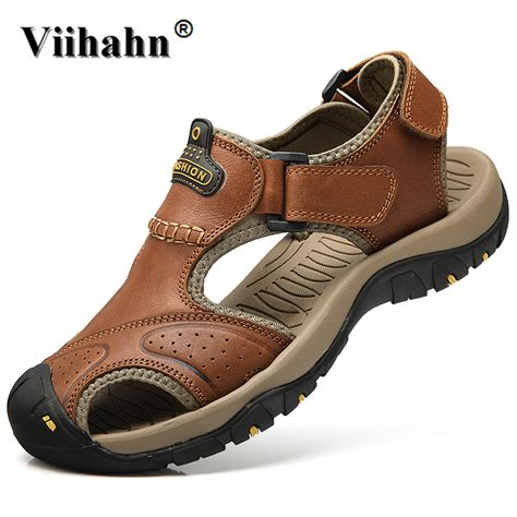 Sandal Wanita Sandal Casual Sandal Wedges Sandal Wedges Tali 16 viihahn mens sandals genuine leather summer 2017 new casual shoes outdoor sandals plus