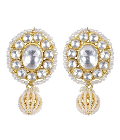 much more indian style gold plated kundan made