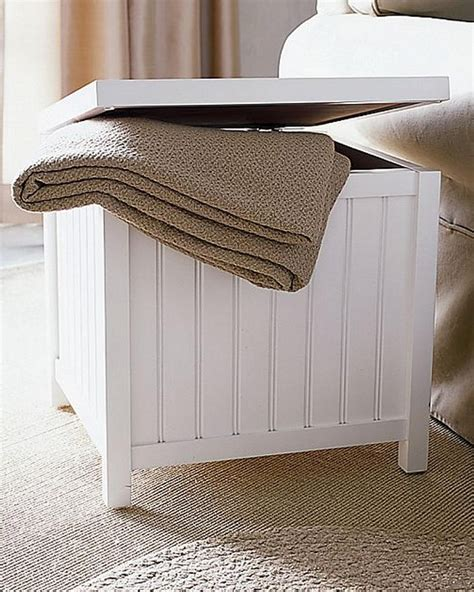 Laundry Stool With Storage by Wooden White Storage Stool Laundry Bin Her With Lid