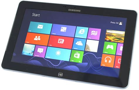 Tablet Samsung Os Windows 8 samsung ativ smart pc 500t windows 8 tablet review hothardware