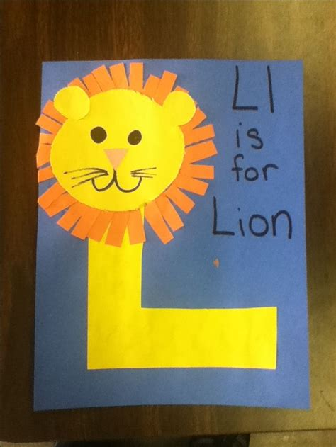 Crafting L by 25 Best Ideas About Letter L Crafts On Letter